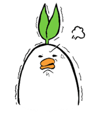 Q guys!!(+a seed leaf) sticker #759361