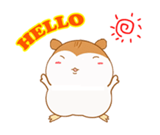 Potechi of hamster sticker #759708
