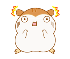 Potechi of hamster sticker #759716