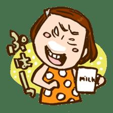 MIZUTAMAMOYOU no MOCOCOchan sticker #759788