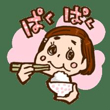 MIZUTAMAMOYOU no MOCOCOchan sticker #759789