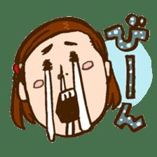 MIZUTAMAMOYOU no MOCOCOchan sticker #759792
