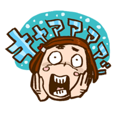 MIZUTAMAMOYOU no MOCOCOchan sticker #759799
