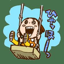 MIZUTAMAMOYOU no MOCOCOchan sticker #759812