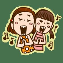 MIZUTAMAMOYOU no MOCOCOchan sticker #759817