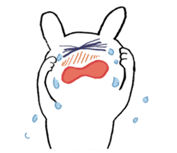 Mr. White Rabbit sticker #759986