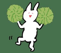 Mr. White Rabbit sticker #759987