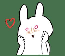 Mr. White Rabbit sticker #759993