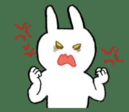 Mr. White Rabbit sticker #760001