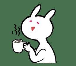 Mr. White Rabbit sticker #760016