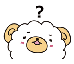 sheep crybaby sticker #760149