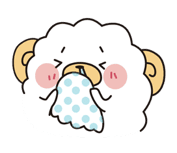 sheep crybaby sticker #760156