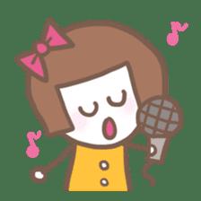 Carefree Days of Machiko sticker #760404
