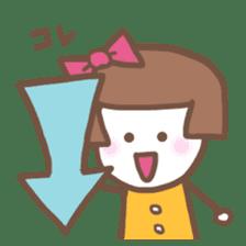 Carefree Days of Machiko sticker #760408