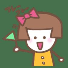 Carefree Days of Machiko sticker #760411