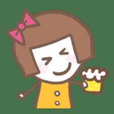 Carefree Days of Machiko sticker #760415