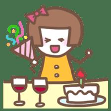 Carefree Days of Machiko sticker #760416