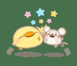 usakichi and piyosuke sticker #760784