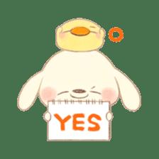 usakichi and piyosuke sticker #760785