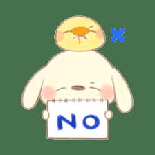 usakichi and piyosuke sticker #760786