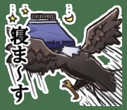 Bald eagle sticker #761308
