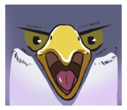 Bald eagle sticker #761321