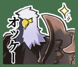 Bald eagle sticker #761322