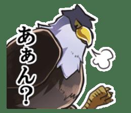 Bald eagle sticker #761324