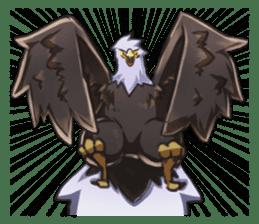 Bald eagle sticker #761326
