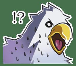 Bald eagle sticker #761327
