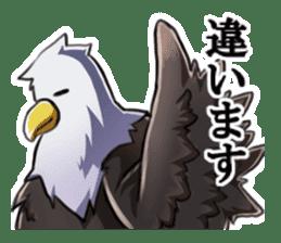 Bald eagle sticker #761329