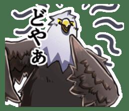 Bald eagle sticker #761335