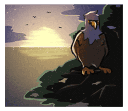 Bald eagle sticker #761338