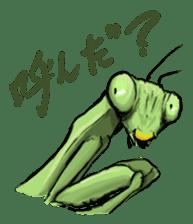 Mantis sticker #763184