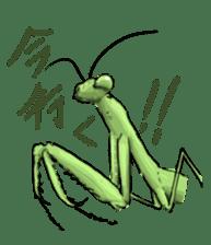 Mantis sticker #763188