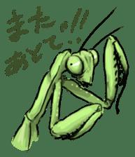 Mantis sticker #763190