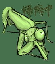 Mantis sticker #763196