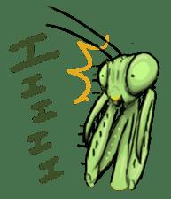 Mantis sticker #763205