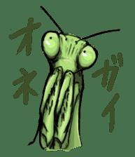 Mantis sticker #763207