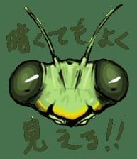 Mantis sticker #763218