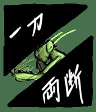 Mantis sticker #763222