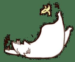 The white cat sticker #764127