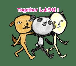 surreal animal of the uta sticker #764547