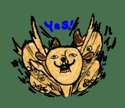 surreal animal of the uta sticker #764553