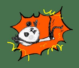 surreal animal of the uta sticker #764571