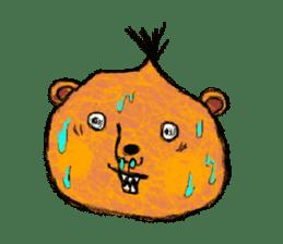 surreal animal of the uta sticker #764578