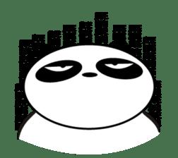 An unsociable panda sticker #767804