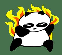 An unsociable panda sticker #767807