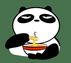 An unsociable panda sticker #767812