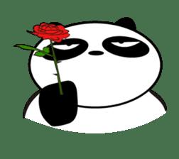 An unsociable panda sticker #767825